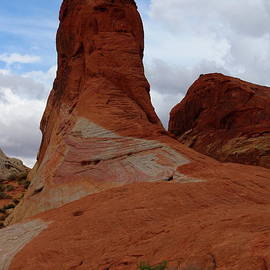 Nevada Sandstone Formation by Christiane Schulze Art And Photography