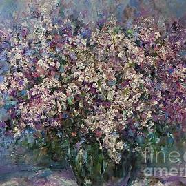 Never too much lilac flowers by Amalia Suruceanu