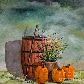 New England Fall by Lee Piper