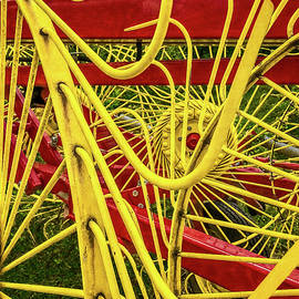 New Holland Wheel Rake Detail Color Play -  newhollandwheelrake_1