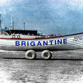 New Jersery-Brigantine Life Guard Boat by Judy Wolinsky