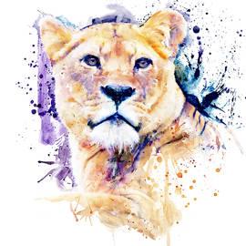 New Lioness Portrait by Marian Voicu