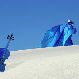 Mystic Blue And The Blue Violin by Bob Christopher