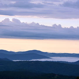 New Morning in the Blue Ridge Mountains NC by Dianne Sherrill
