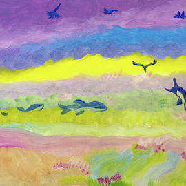 Diving Through Rainbows by Meryl Goudey