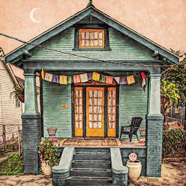 New Orleans House - Prayer Flags by Rebecca Korpita