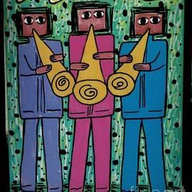 New Orleans Musicians - Street Art by Dora Sofia Caputo