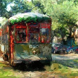 New Orleans Streetcar  by Amzie Adams