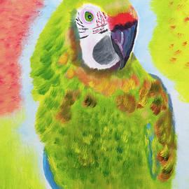 Parrot Talk by Meryl Goudey