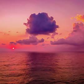 Sea Fire Sunset  -  seafireatsunset082012