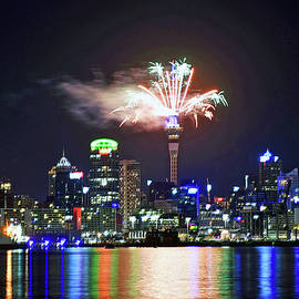 New Year in Auckland New Zealand by Maria isabel Villamonte