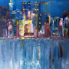 New York abstract by Erica Fairbank
