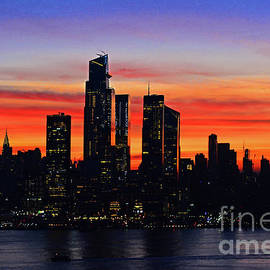 New York City Dawn Light by Regina Geoghan
