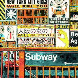 New York City Transit by Susan Maxwell Schmidt