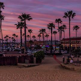 Newport Beach Sunset by Patti Deters