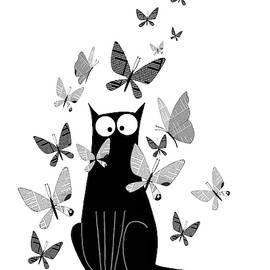 Newspaper Butterflies  by Andrew Hitchen