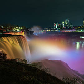 Niagara at Night by Mike Griffiths
