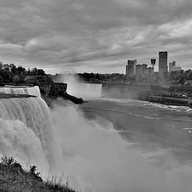 Niagara Falls In Black and White by Carol McGrath