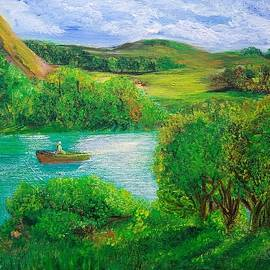 Nice place by Raddiah Painting
