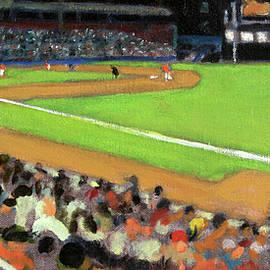 Night Baseball by David Zimmerman