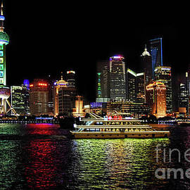 Night In Pudong by Alexandra's Photography