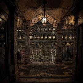 Night in Venice Italy by Rita Di Lalla