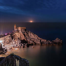 Night of Portovenere by Giovanni Laudicina
