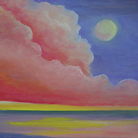 Night Pink Cloud by Alicia Maury