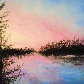 Night Streams in Sunset Dreams  by Jen Shearer