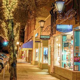 Night Time on Baker St.  by Joy McAdams