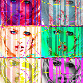 Nine Girls by Pop Art World