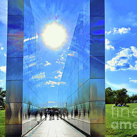 NJ 9/11 Empty Sky Memorial Landscape by Regina Geoghan