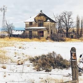 No Trespassing  by Jerry Abbott