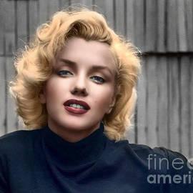 Norma Jeane Mortenson, aka Marilyn XI by Al Bourassa