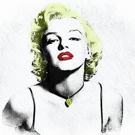 Norma Jeane Mortenson, aka Marilyn XII by Al Bourassa