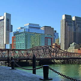 Northern Avenue Swing Bridge, Boston, MA by Lyuba Filatova