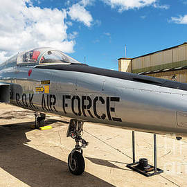 Northrop F5-A Freedom Fighter near Hangar 79 at Pearl Harbor by Phillip Espinasse