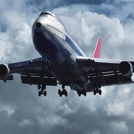 Northwest Boeing 747 at Los Angeles by Erik Simonsen