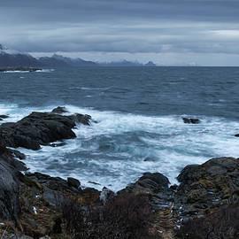 Norwegian Restless Sea by Norma Brandsberg