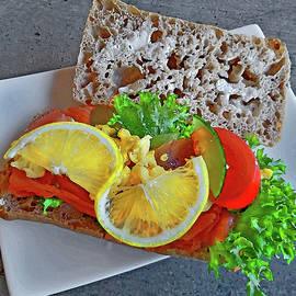 Norwegian sandwich. by Andy i Za