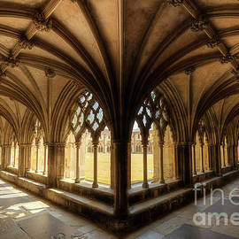 Norwich Cathedral Cloisters by Neale And Judith Clark