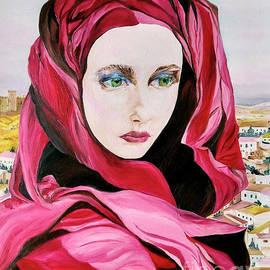 Nostalgia, oil painting  by Maria Sibireva