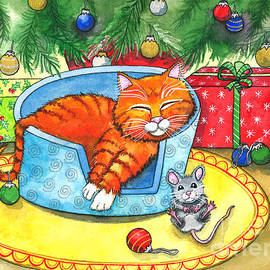 Not a Creature was Stirring  by Shelley Wallace Ylst