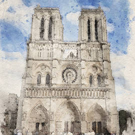 Notre Dame Cathedral by George Pennington