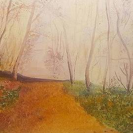 November autumn forest by Petra Wenzel