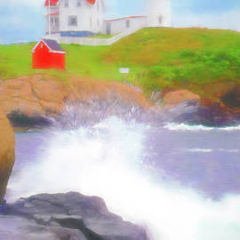 Nubble Island Light by Jerry Griffin