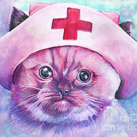 Nurse Kitty by Michael Volpicelli