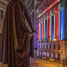 NYSE NY Stock Exchange Wall Street  by Susan Candelario