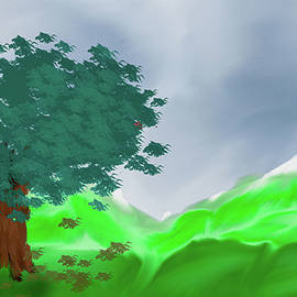 Oak tree 1 #k7 by Leif Sohlman