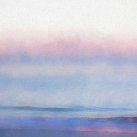Exhale -- Ocean Abstract by Francis Sullivan